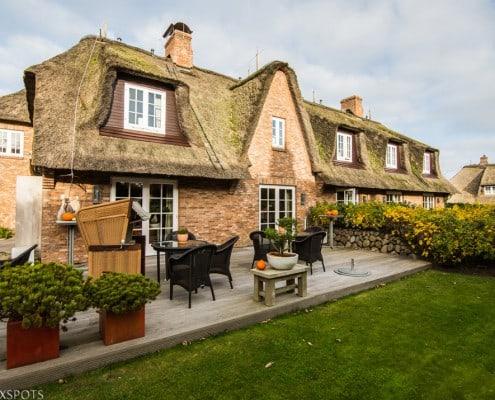 Terrasse des Hotel Village in Kampen |Sylt