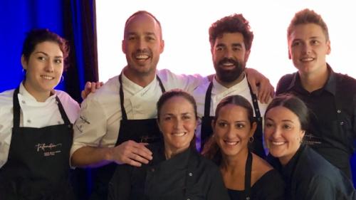 Sternekoch Quim Casellas mit Team beim TastEmotion 2018 in München