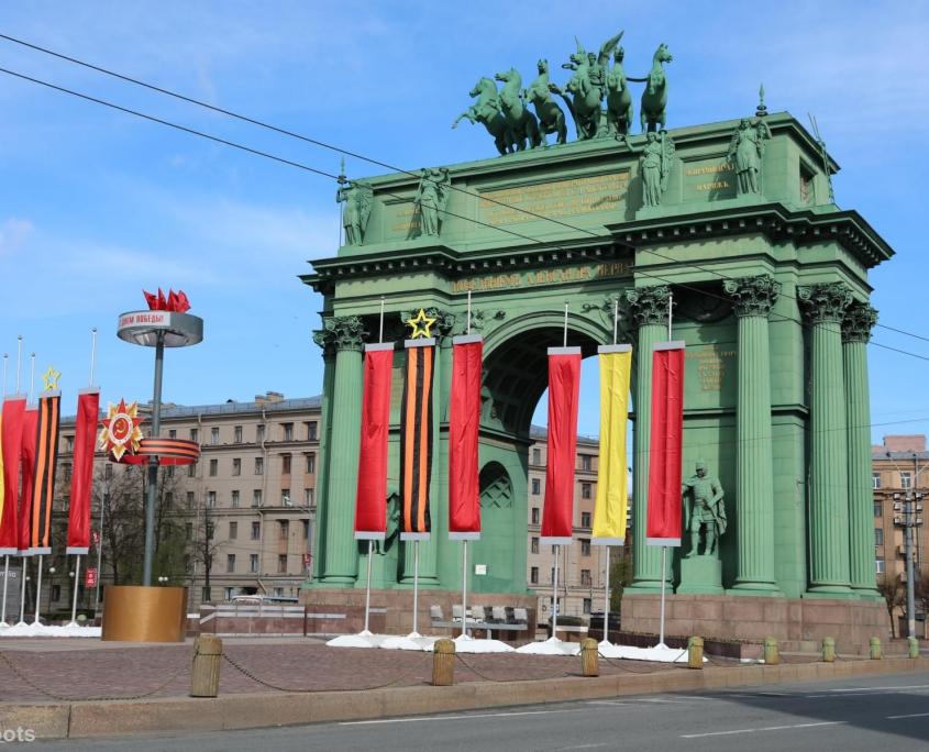 Narva-Triumphbogen in Sankt Petersburg