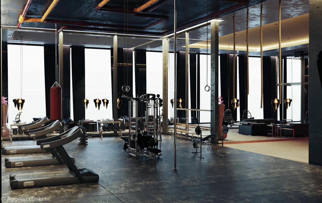 Fitnessgeräte im MASEVEN