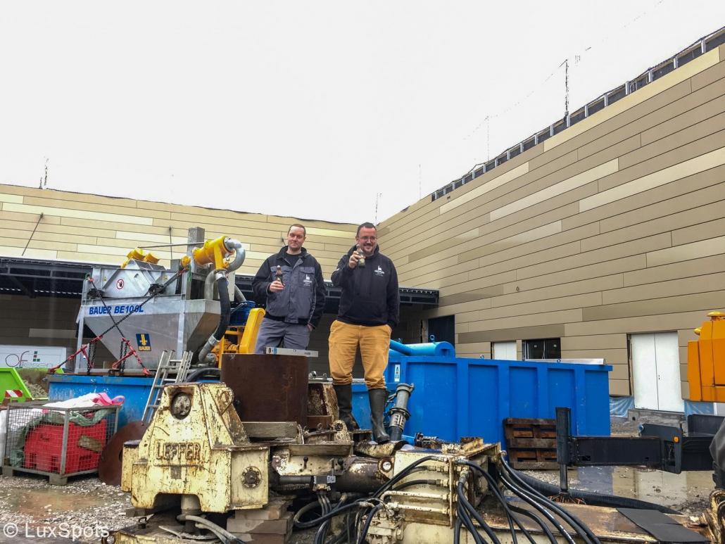 Die Zukunft im Blick: Brauereichef Steffen Marx auf seiner Großbaustelle im Münchner Norden