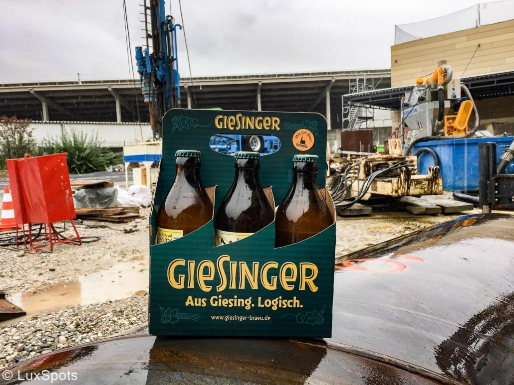 """Die Bierklassiker """"Giesinger Radler"""" und """"Giesinger Erhellung"""" im Six-Pack"""
